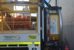 Truck mounter attenuator Perth