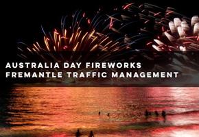 Highways Traffic provided traffic management in Fremantle on Australia Day 2018