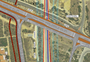 Highways Traffic provided traffic road management plans on Perth's Hester Avenue