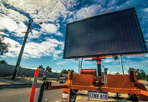 Highway Traffic's traffic control monitor on Perth roads